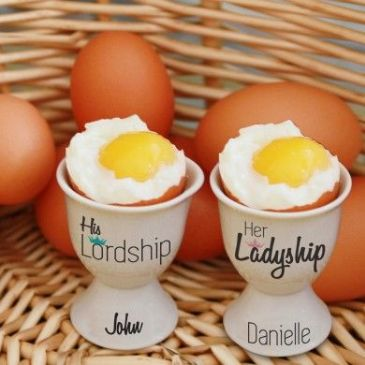 His and Hers Egg Cups